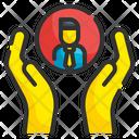 Facilitate Help Hand Icon