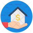 Facility Financial Support Mortgage Loan Icon