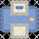 Facsimile Machine Fax Icon