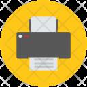 Facsimile Fax Printer Icon