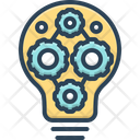 Factor Component Decomposing Icon