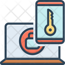 Factor Authentication Account Icon