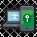 2 Factor Authentication Password Icon