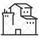 Factory Production Factory Production Icon