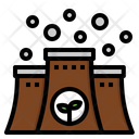 Factory Nuclear Energy Icon