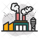 Factory Industry Smoke Icon