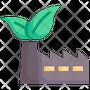 Factory Environment Green Icon