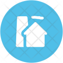 Factory Chimney Nuclear Icon