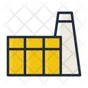 Factory Industy Industrial Building Icon