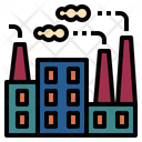 Factory Industry Building Icon