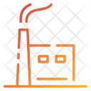 Factory Indusrial Pollution Air Pollution Icon