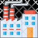 Factory Factory Building Industrial Building Icon