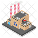 Factory Mill Power Plant Icon