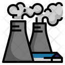Factory Gas Emissions Icon