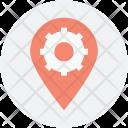 Factory Gearwheel Logotype Icon