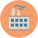 Factory Pollution Air Icon