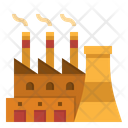Factory Industry Company Icon