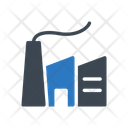 Factory Refinery Plant Icon