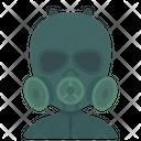 Gas Mask Hazadous Icon