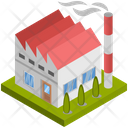 Building Factory Industry Icon