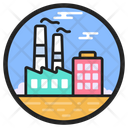 Factory Nuclear Plant Power Plant Icon