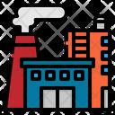 Factory Building Economy Icon