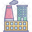 Factory Factory Building Factories Icon