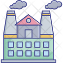 Factory Factories Icon Factory Icon