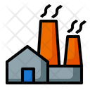 Factory Building Industry Icon
