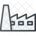 Factory Industry Construction Icon