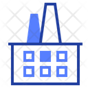 Factory Plant Industrial Icon