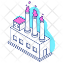 Factory Industry Plant Icon
