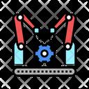 Factory Conveyor Car Icon