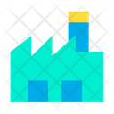 Industry Building Mill Icon