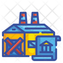 Factory Bankruptcy Icon