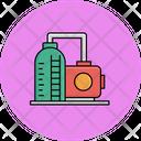 Factory Boiler Industrial Boiler Industrial Burner Icon
