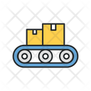 Factory Distribution Icon