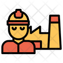 Factory Engineer Icon