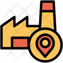Location Pointer Factory Pointer Icon
