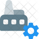Factory Management Icon