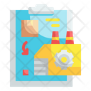 Factory Manufacture Icon
