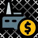 Factory Money Icon