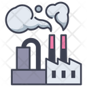 Pollution Factory Industry Icon