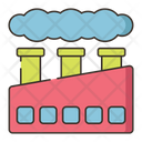 Factory Pollution Icon