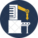 Factory Production Production Plant Manufacturing Plant Icon