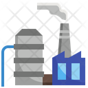 Factory Production Icon
