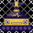Factory Robot Mechanical Robot Bionic Man Icon