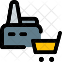 Factory Shopping Icon