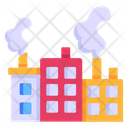 Industrial Pollution Factory Smoke Smoke Pollution Icon