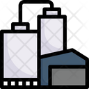 Manufacturing Factory Industries Icon